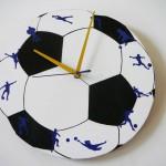Ceas de perete minge de fotbal