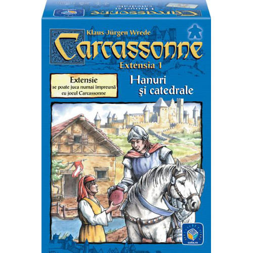 Joc Carcassonne - extensia 1 Hanuri si catedrale