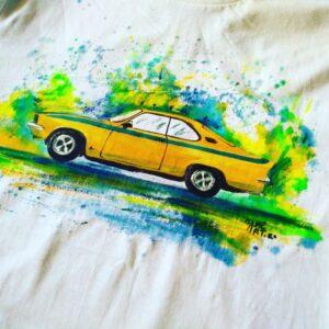 tricou pictat
