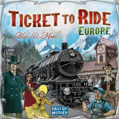 Joc Ticket to Ride Europa