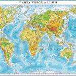 Harta fizica a lumii