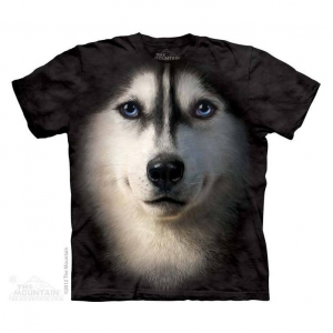 Tricou 3D Husky face