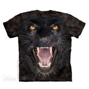 Tricou 3D pantera agresiva