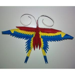 Magnet Fluture Tricolor