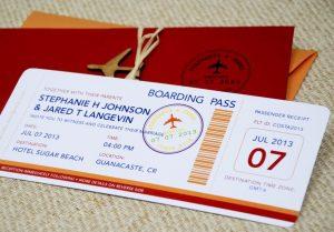 invitatii bilete de avion